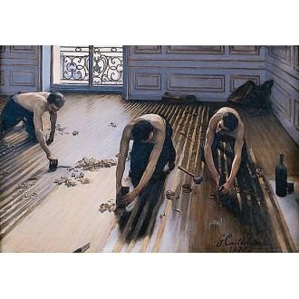 Cyklinowanie/renowacja z malowaniem i szpachlowaniem podłogi