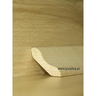Listwa przypodłogowa 38 lite drewno