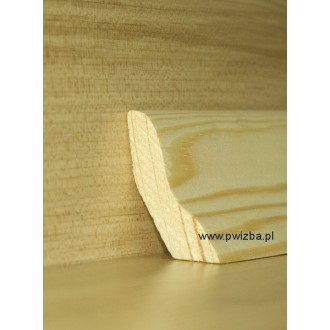 Listwa przypodłogowa 50 lite drewno