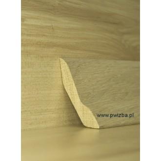 Listwa przypodłogowa 60 lite drewno